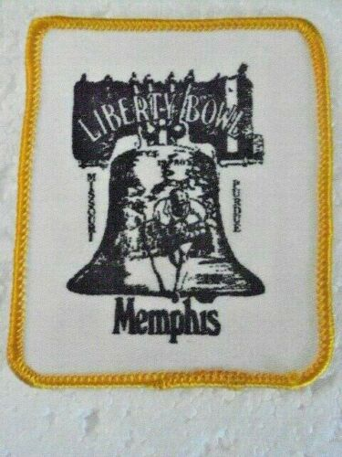 """Patch Liberty Bowl  Memphis Tennessee  3.5"""" x 2.75""""  Rare"""