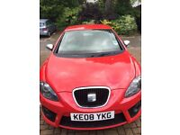 Red Seat Leon FR 2.0 TDI. 70,000 mi. £4250. Exeter, Devon