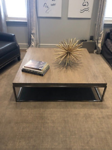 Restoration Hardware Coffee Table - Modern Collection