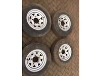 Kingpin 4 x 4 Tyres / Land Rover Series 1, Set Of 4 Tyres - Classic Parts