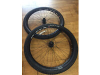 27.5 650b WTB ST i19 Tubeless Compatiable Wheelset, Formula Hubs & WTB Tyres £150 FOR QUICK SALE
