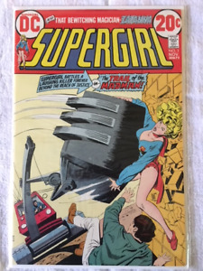 SUPERGIRL #1 comic book - 1972 key issue - NM condition.