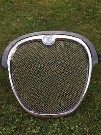 S/Steel mesh grill for Jaguar S type 2004-2007