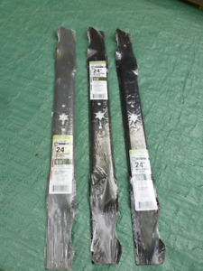 "NEW!  24"" Mulching blades for lawnmower $10 EACH (3 available)"