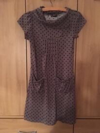 Brand New Grey Polka dot Tunic dress