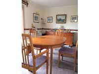 Dining Room Table 6 Chairs Including 2 Carvers For Sale 10000 Buyer