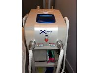 IPL & NdYag Biotec XLase Machine for skin rejuvenation, acne, pigmentation and hair removal