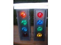 SOUNDLAB AUTO CONTROLLER 4s ( 8 BULB DISCO LIGHTS ) RETRO,NICE BRIGHT EFFECT ,