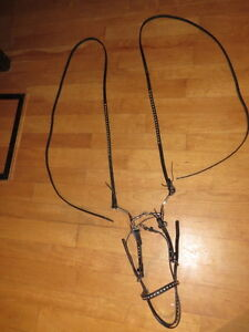 MATCHING BRIDLE/REINS SET, SNAFFLE BIT &BREAST-COLLAR London Ontario image 7
