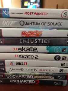 Assorted PS3 Games for salefor sale