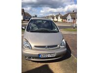 Citroen Xsara Picasso 2.0 HDI Exclusive 5 dr 2002 Diesel One Owner From New