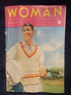Woman magazine, Feb 24 1947; fashion, domestic, beauty, ads