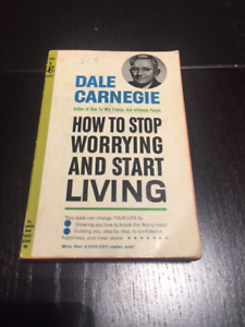 Dale Carnegie - How to stop worrying and start living book