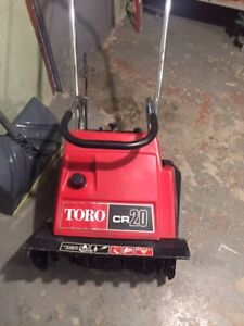 Toro cr20 snowblower