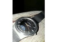 Skagen watch titanium mesh