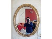 Gold Mirror £5