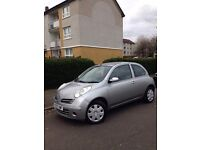 NISSAN MICRA 1.2 ENG - 08 PLATE - IMMACULATE CONDITION - LONG MOT (FEB 18) LOW MILES (84,000)