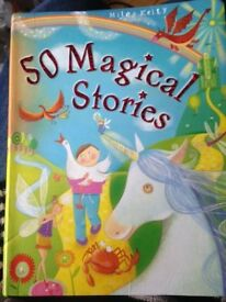 Book - 50 magical stories by Miles Kelly.