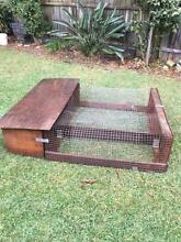 Home made detachable Guinea pig cage West Ryde Ryde Area Preview