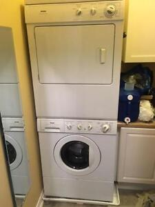 Stackable Front Load Washer/Dryer Pair