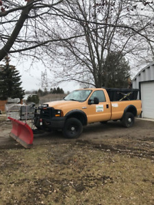 2006 F350 with Plow & Salter