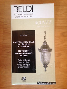 Outside Hanging Lamps (New in Box)