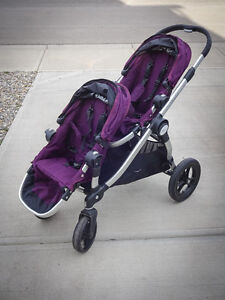City Select Double Stroller - purple