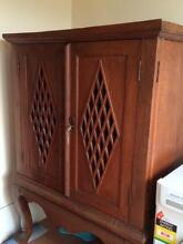 Balinese Solid Teak cabinet Mount Colah Hornsby Area Preview