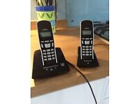Dual cordless phone with answer machine