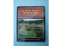 The Manor Houses of the Isle of Wight by C.W.R. Winter Paperback Book - Rare