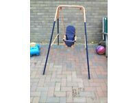 Toddler outdoor swing