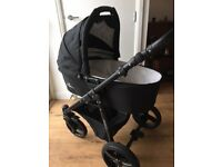 Venicci 3 in 1 pushchair, carrycot and car seat