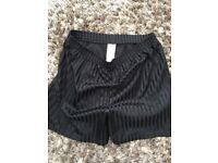 Kids School Shorts. Black. Age 12-13 yrs. vgc. £2. torquay or can post.