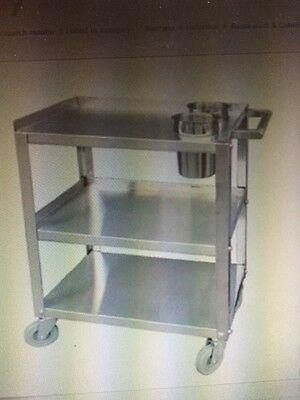 Heavy Duty Stainless Steel Knockdown Cart
