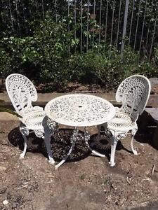 Aluminium outdoor table and chairs Beecroft Hornsby Area Preview