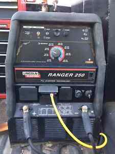 LINCOLN 250 RANGER CHOPPER TECHNOLOGY MOBILE GAS WITH 429 HOURS