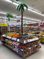 Retail Customer Service - Grocery Store