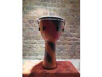 Djembe - High quality Djembe 60cm tall 30cm head As New with padded bag