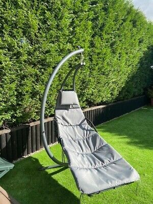 SWING CHAIR WITH PARASOL AND COVER £220!!!! BARGAIN ONLY USED ONCE