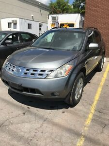 2005 NISSAN MURANO SE AWD ONE OWNER $1250 AS IS