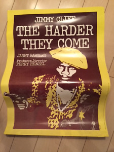 Jimmy Cliff The  Harder They Come movie poster