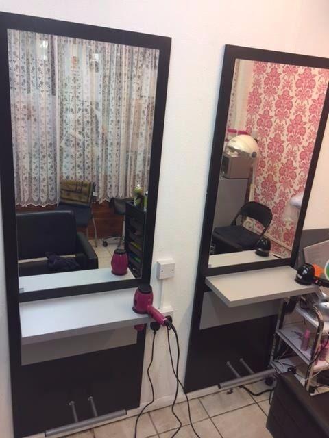 Hair Salon Furniture   2 X Bellazi Tom Styling Unit