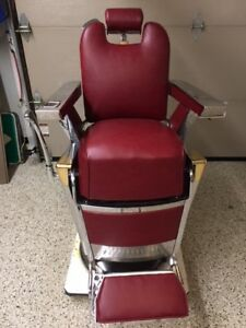 Belmont Barber Chair  Restored