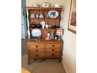 Delicieux Oak Dining Room Dresser   All In Oak Apart From Tongue And Groove At Back Of