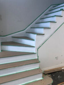 Sanding And Staining Floors And Stairs