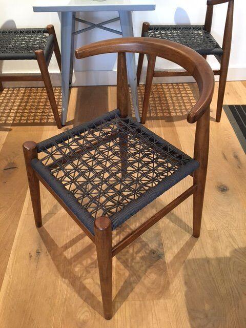 West Elm / John Vogel Design Dining Chairs   Set Of Four (4)