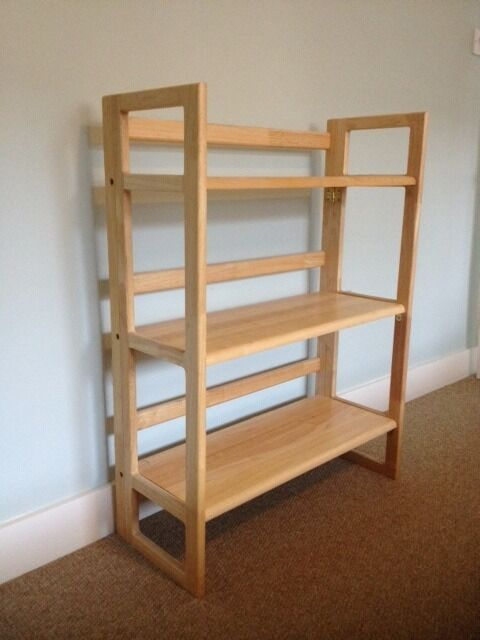 folding shelves bookcase light wood john lewis