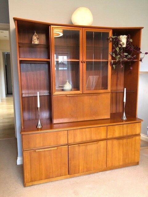 Solid Teak Wall Cabinet