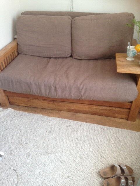 2 seater futon sofa bed 2 seater futon sofa bed   in hammersmith london   gumtree  rh   gumtree