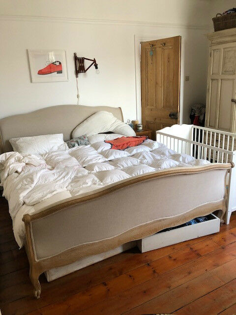 Loaf Super King Antoinette bed including 3 x under bed storage draws. Like New & Loaf Super King Antoinette bed including 3 x under bed storage ...